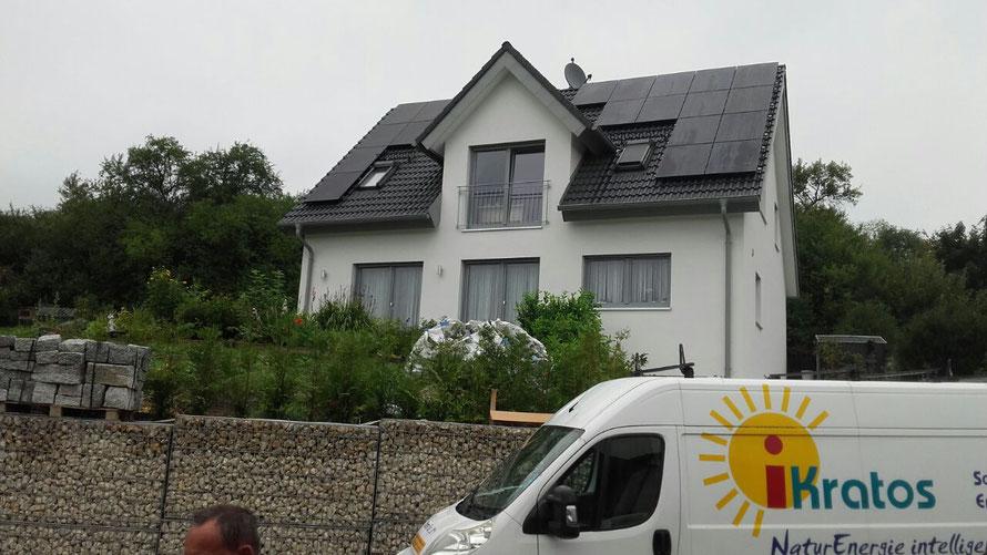 Bau - Haus Projekte brauchen Photovoltaik und Waermepumpen