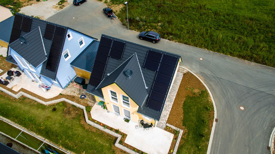 Solar Photovoltaik PV Solarstrom in Egloffstein