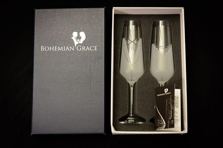 Weddingset Verpackung Bohemian Grace