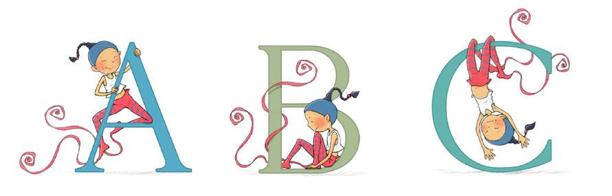 abc debut de l'alphabet Timeliot