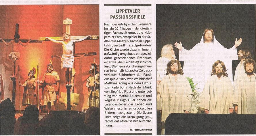 Bericht Kirche und Leben vom 01.04.2015