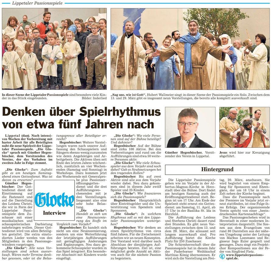 Bericht Die Glocke vom 07.03.2015