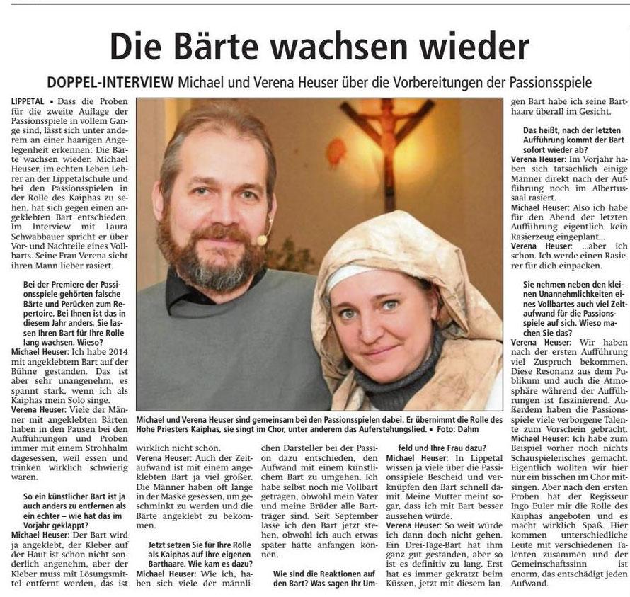 Bericht Soester Anzeiger vom 02.02.2015