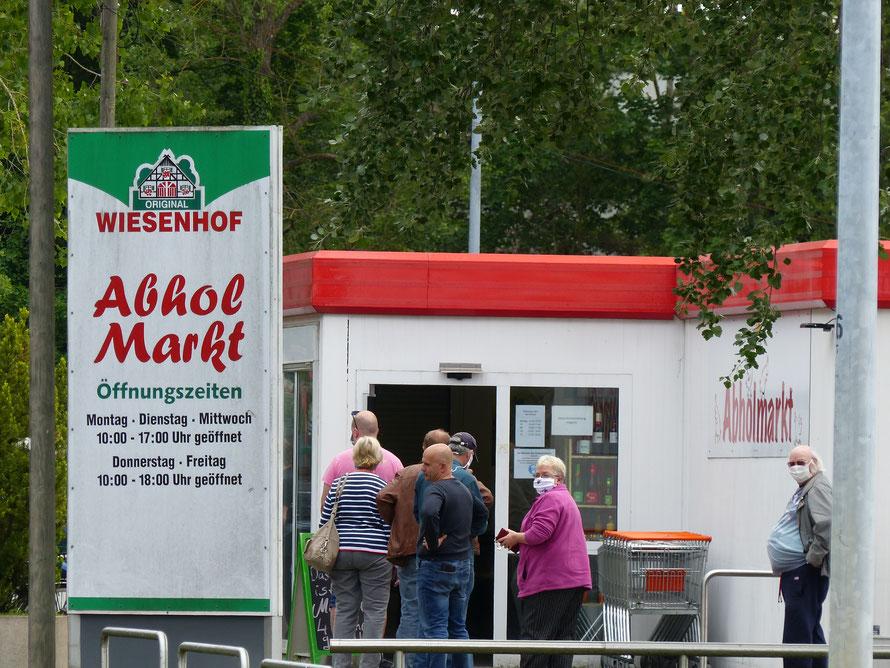 Abholmarkt am Wiesenhof-Schlachthof in Niederlehme