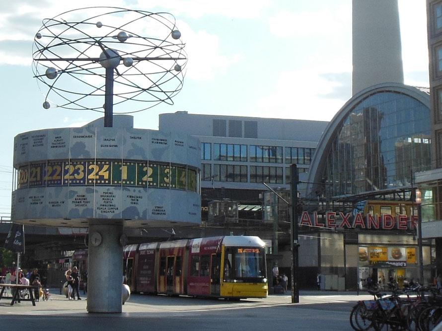 Berlin Weltzeituhr - Bild: Jens-Martin Rode