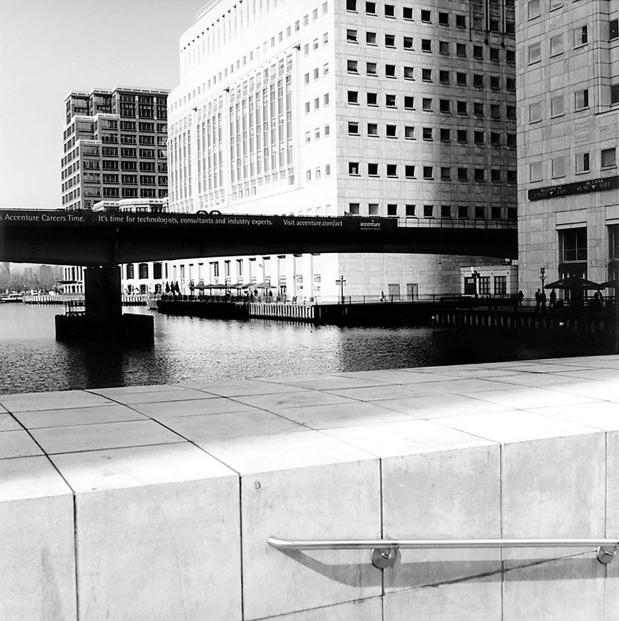 Canary Wharf London, © Birgitta Thaysen 2009