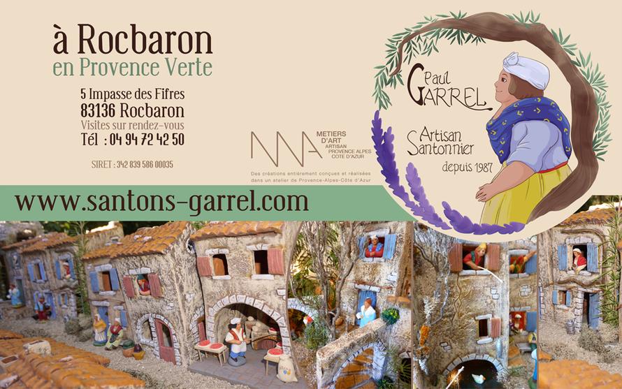 Santons et crèches de Provence - Artisan Paul Garrel