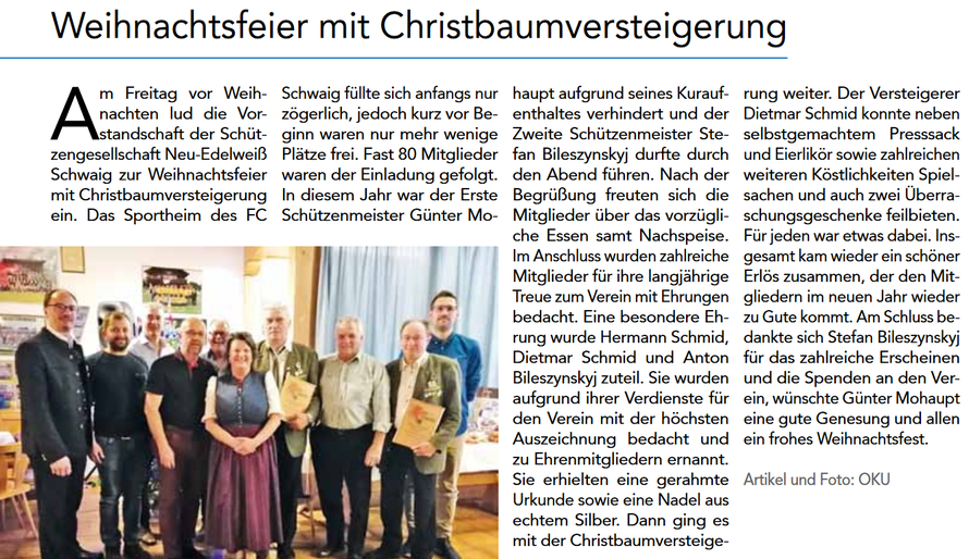 Quelle: Oberdinger Kurier, 2. Ausgabe, 07.02.2020