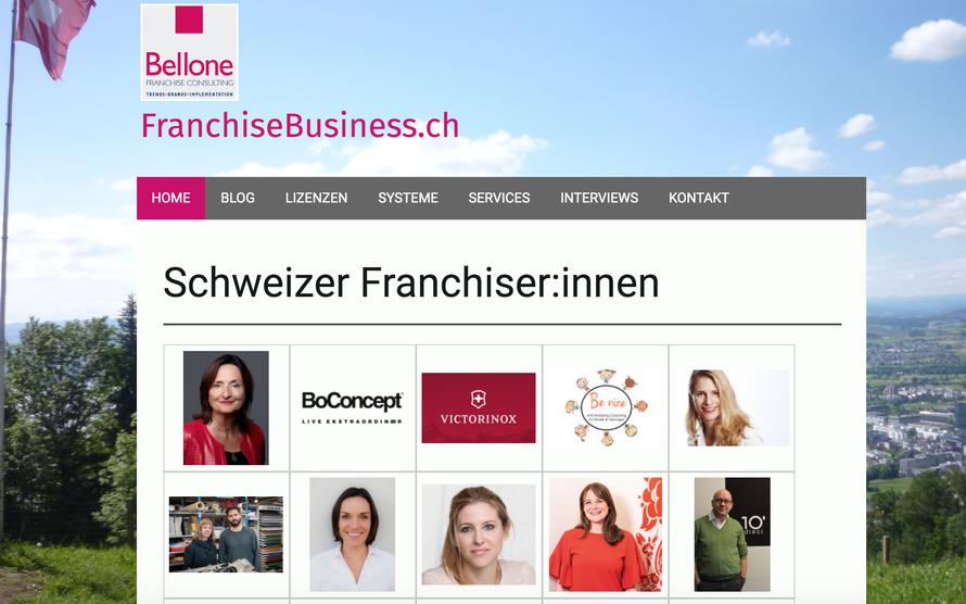 Plattform für die Schweizer Franchisewirtschaft: www.franchisebusiness.ch © Bellone Franchise Consulting GmbH