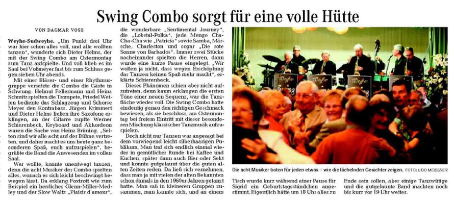Weser-Kurier vom 7. 4. 2010
