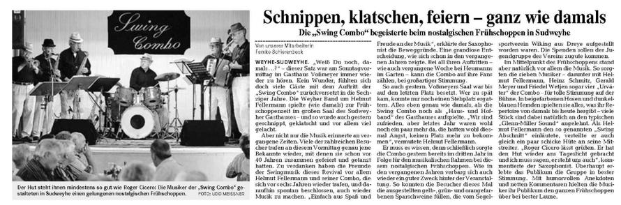 Weser-Kurier vom 9. 7. 2007
