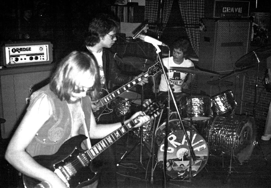 Ostern 1975 / von links: Wolfgang Kiesler, Lutz Wowerat, Klaus Moritz