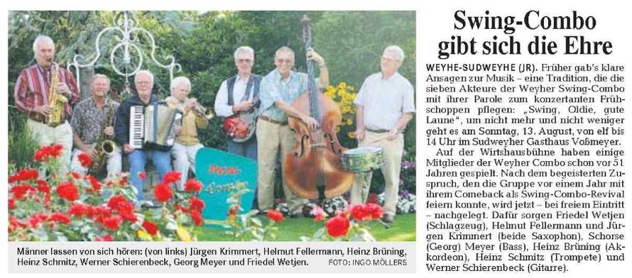 Weser-Kurier vom 9.8.2006
