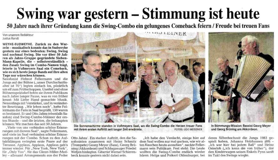 Weser-Kurier vom 30. 5. 2005