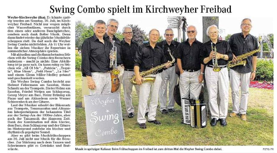 Weser-Kurier vom 9.7.2014
