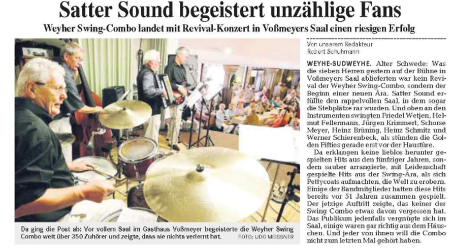 Weser-Kurier vom 14. 8. 2006