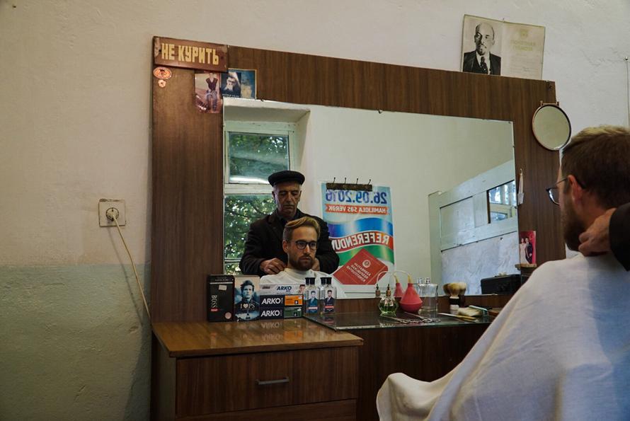 Oldschool Barbier in Ivanovka Azerbaijan