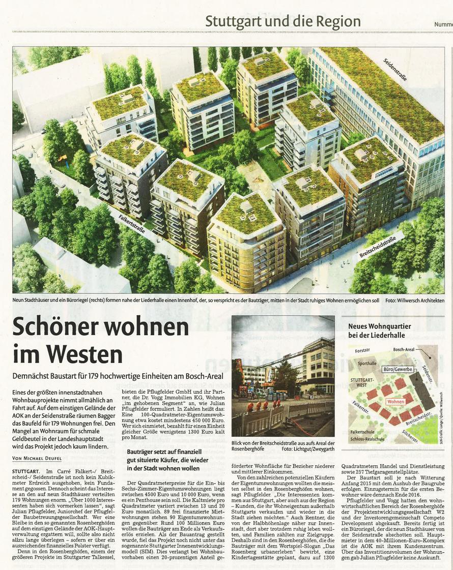 Stuttgarter Nachrichten / 14.10.2014