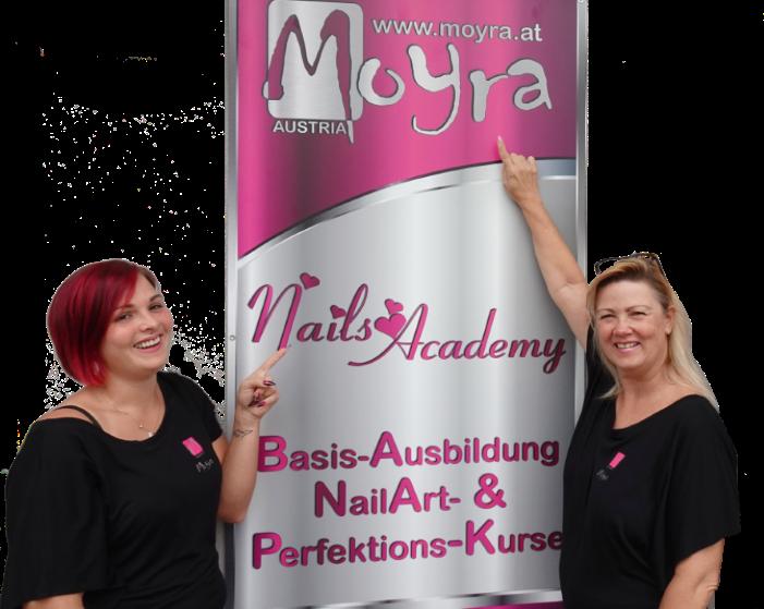 Das Team von Moyra Nagelstudio, Moyra NailArt-Store und unserer NailsAcademy freut sich, Sie in unserem neuen Geschäftslokal in Neu Leopoldau, Tauschekgasse 11,  Wien 21 begrüßen zu dürfen.