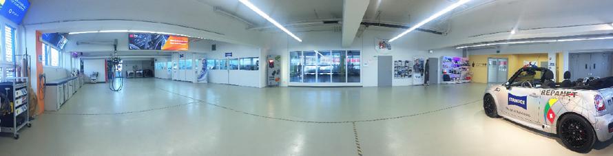 Das Information-Center der André Koch AG mit modernster Infrastruktur in Urdorf