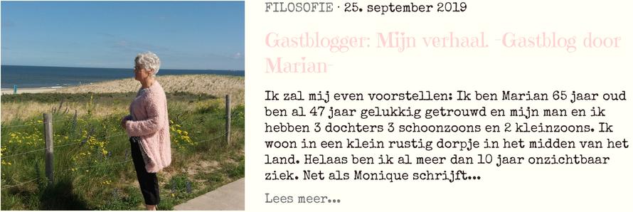 Gastblogger Marian blog 1