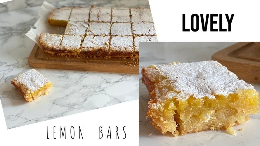 Lemon bars. lekkerste recept om lemon bars te maken. lemon bars maken. citroenkoek maken. plaatkoek maken