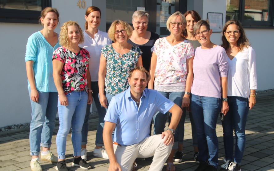 Das Team der Praxis Dr. Fiering in Winnenden