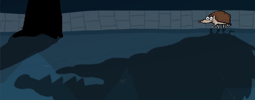 staatsbosbeheer - sporen - egel
