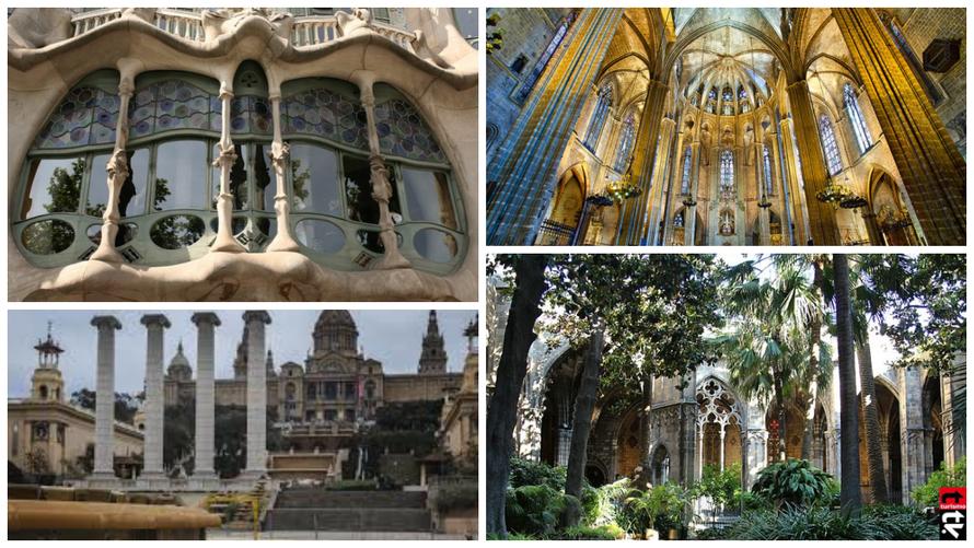 Barcelona Turismo y Arquitectura
