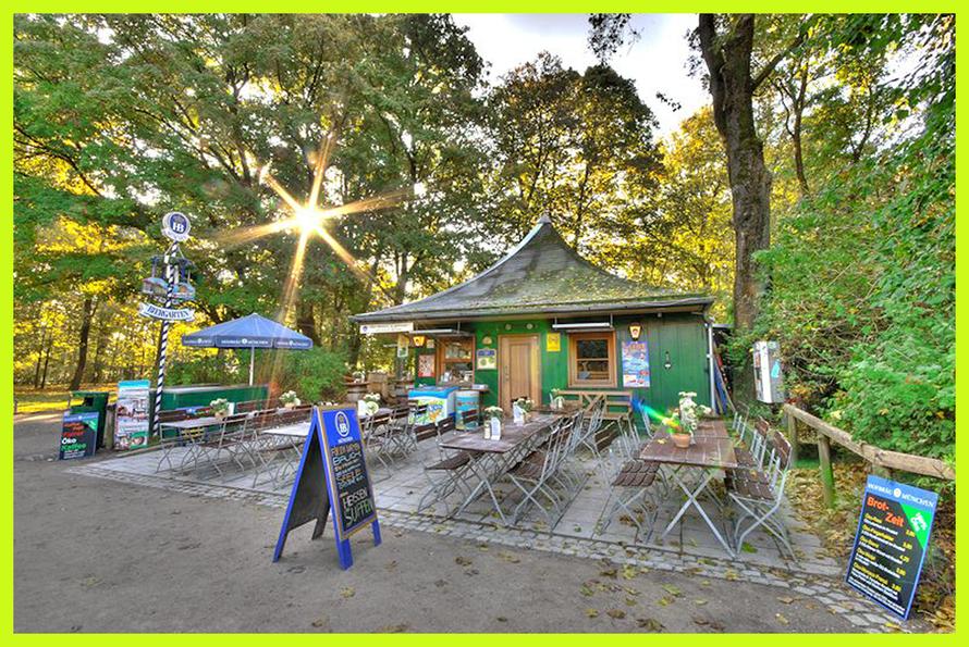 Bio-Biergarten Milchhäusl in München