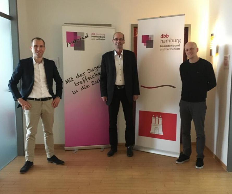 Dennis Thering, Rudolf Klüver, Sandro Kappe