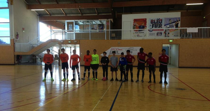 Demi-finale : Collège Robert Morel – Collège Antoine Risso : 0-2