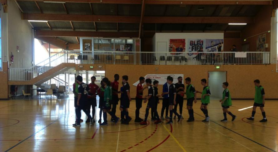 Finale : Collège Les Bréguières – Collège Antoine Risso : 2-7