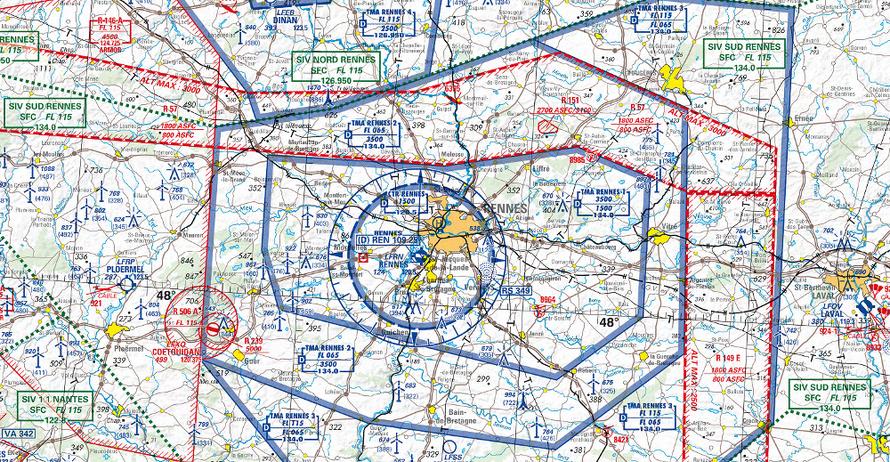 carte ign aviation oaci