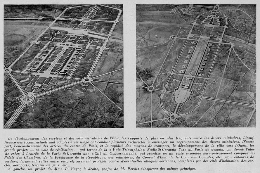 """Image: """"L'architecture"""" 1932"""