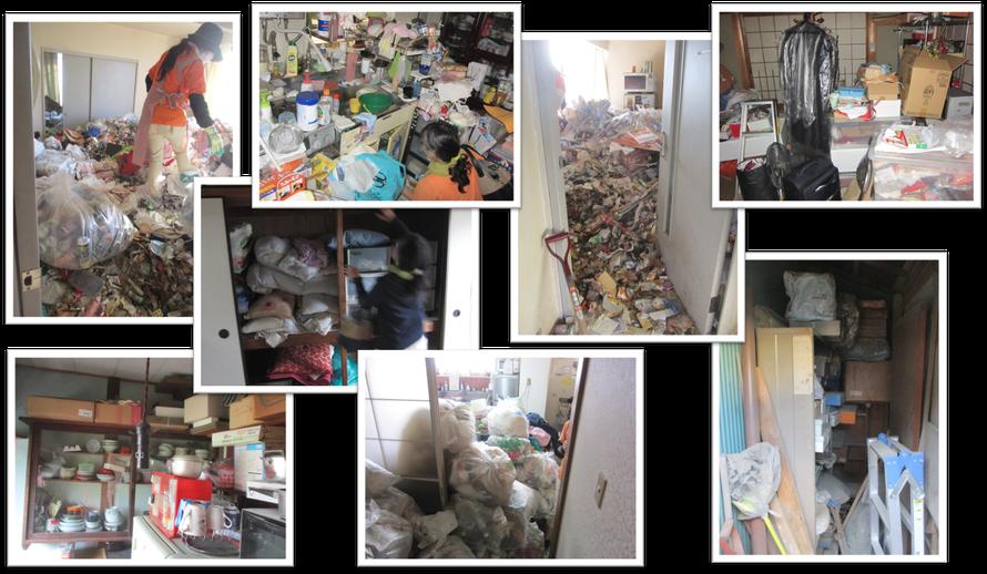 さいたま市桜区でのゴミ屋敷お片付けは日本整理へお任せください|一軒家|実家|アパート|マンション