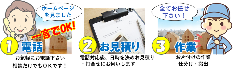 埼玉県久喜市での遺品整理は是非とも当社へお任せください