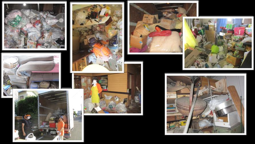 久喜市でのゴミ屋敷お片付けは日本整理へお任せください|一軒家|実家|アパート|マンション