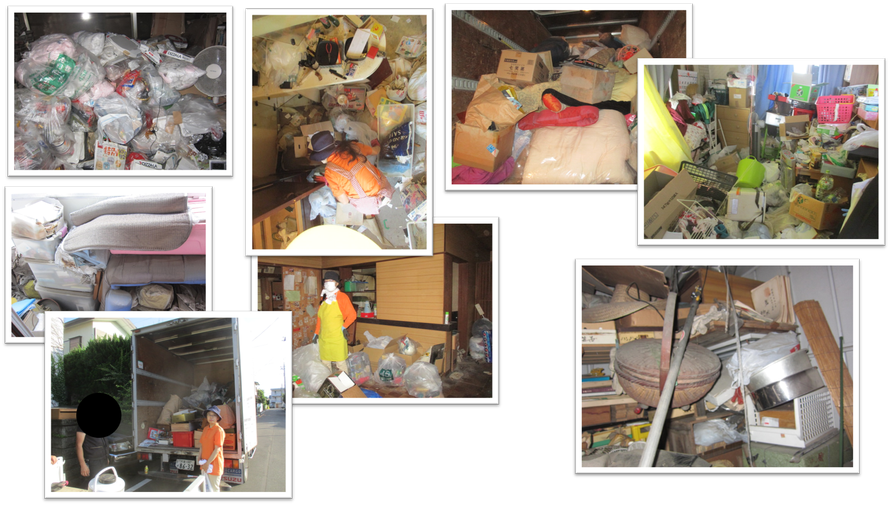 貸倉庫|レンタル倉庫|レンタルボックス|貸コンテナ|トランクルーム|片付け|処分|全て|捨てる