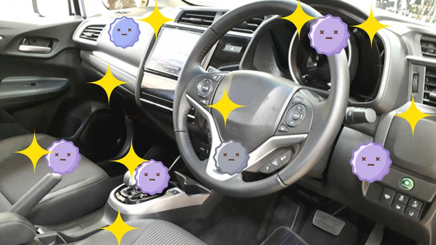 車の車内にも光触媒コーティング