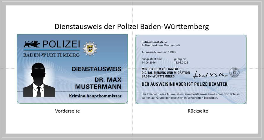 Polizeiausweis Bayern