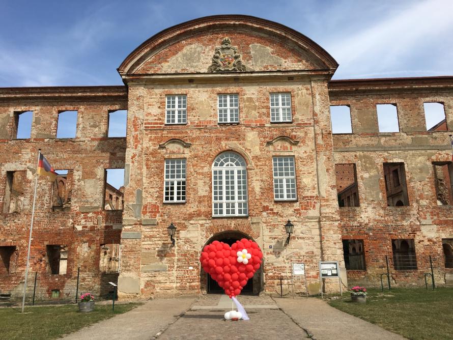 Herz, Dargun, Klosterruine, Hochzeit, Mr. toni balloni ch