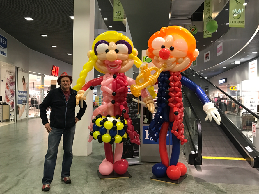 Ballon Karneval Clowns, Mr. toni balloni ch