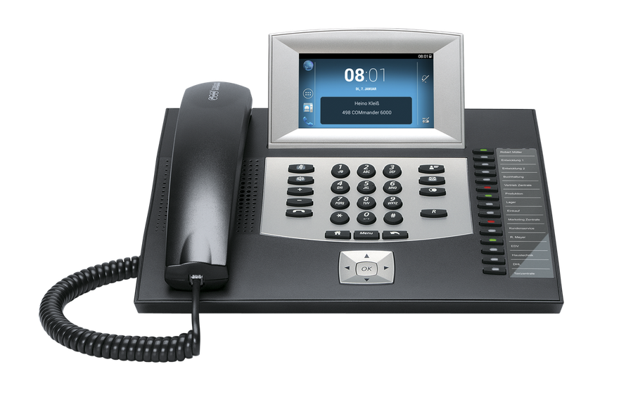Auerswald Telefonanlage COMfortel 2600 IP schwarz, presented by SafeTech
