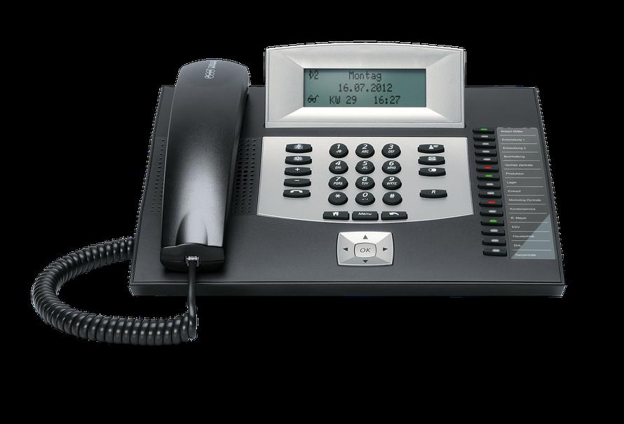 Auerswald Telefonanlage COMfortel 1600 (ISDN) schwarz, presented by SafeTech