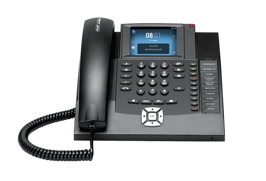 Auerswald Telefonanlage COMfortel 1400 IP schwarz, presented by SafeTech