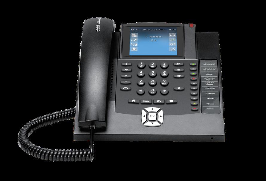 Auerswald Telefonanlage COMfortel 1400 (ISDN) schwarz, presented by SafeTech