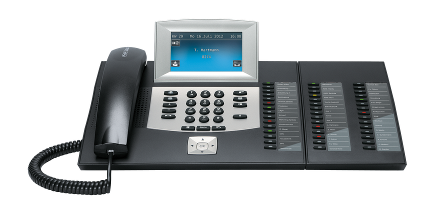 Auerswald Telefonanlage COMfortel 2600 Xtension schwarz 90582,  presented by SafeTech