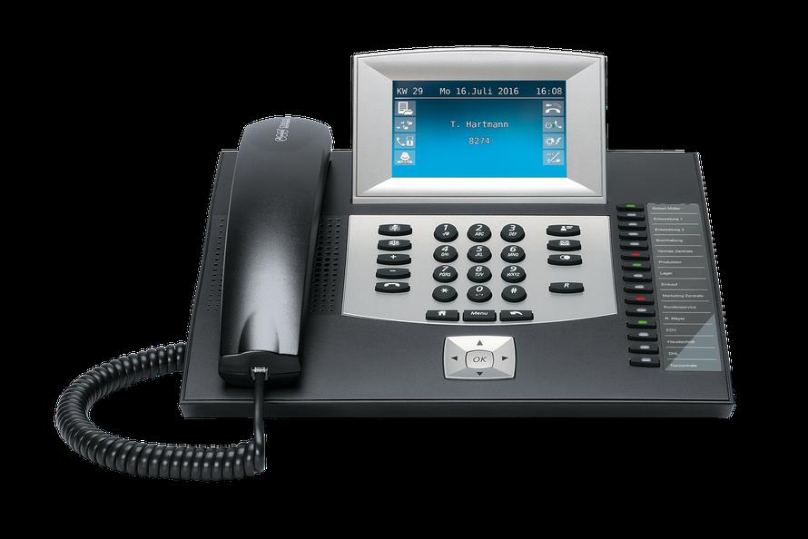 Auerswald Telefonanlage COMfortel 2600 (ISDN) schwarz, presented by SafeTech