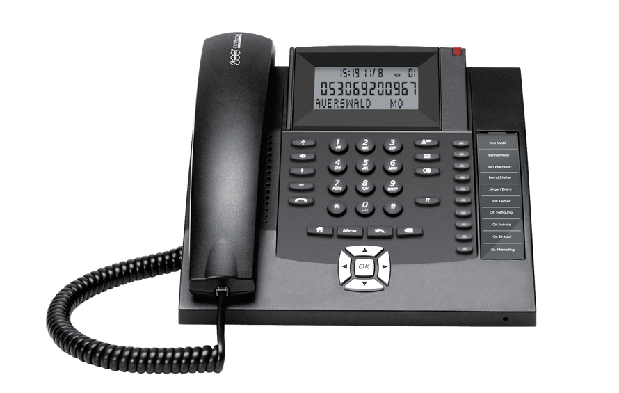 Auerswald Telefonanlage COMfortel 600 analog, presented by SafeTech